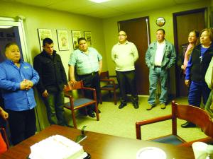 Cuando  Pedro  era  presentado  como  un  miembro  más  de  la  familia  de La Prensa de Colorado.