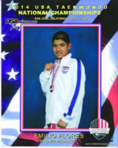 Emilio 2014 Nationals