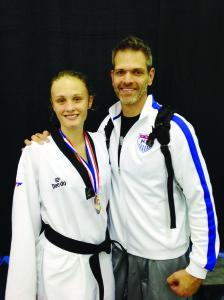 Madelynn cumplió con su objetivo y se trajo a Colorado medallas de oro.