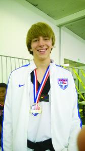 Garret Wright, otro de los ganadores de la medalla de oro.