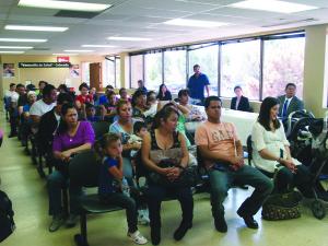 La comunidad mexicana presente en la actividad.