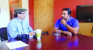Vinicio Castilla Soria, durante la entrevista con La Prensa de Colorado.