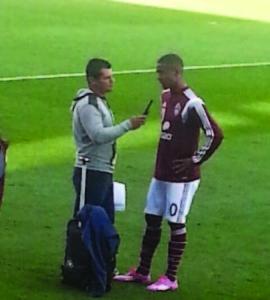 Arnoldo Hernández en las reacciones de unos Rapids que estuvieron en su peor temporada