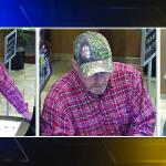 Imágenes del ladrón del banco. (Foto de Fox31)