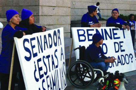 Arrestados frente al Capitolio