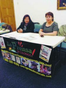 Mary A. Flores y La Prensa de Colorado....