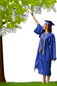 graduation-money-tree