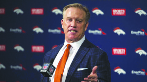 Denver Broncos John Elway General Manager and Executive Vice President of Football Operations