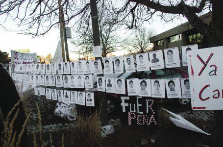 La lucha sigue, Colorado con Ayotzinapa