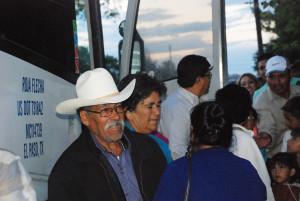 Teresa Guerrero Zapata y Candido Castorena Cisneros. (Foto EF).