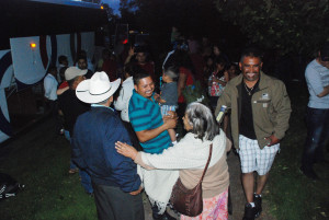 Familiares y amigos felices por este reencuentro.... (Foto EF).