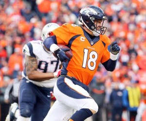 La Primera jugada de Payton Manning's. (Foto:Denverbroncos.com).