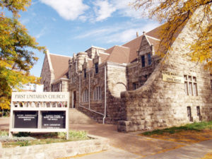 El santuario, ubicado en pleno centro de Denver.