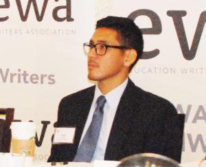 Jose Palma, Graduate Investigator, University of Minnesota.