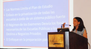Ruth Rodríguez Fay, Administradora de United Opt Out National.