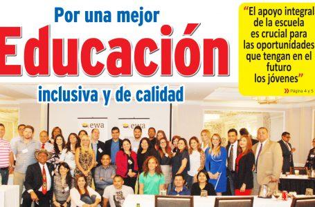 Por una mejor educación, inclusiva y de calidad