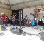 Los Rockeros de la Sierra, prendieron a la comunidad.