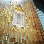 La imagen de la Virgen de Guadalupe que se encuentra en la Basílica de Santa María de Guadalupe, en la Ciudad de México. (Fotos:LPDC/Germán González)