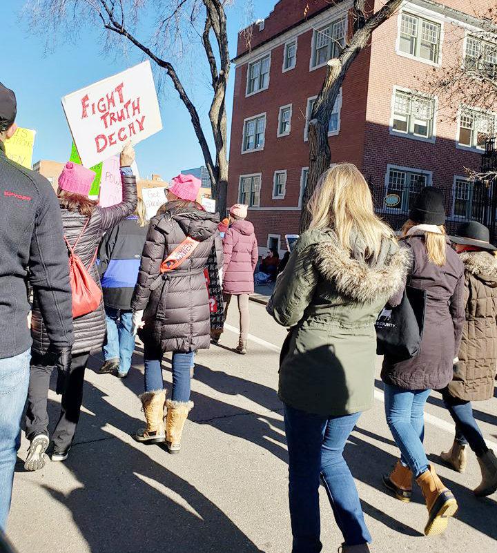 Impacta la Marcha de Womxn en Denver