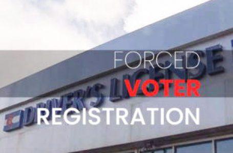 Registro de votantes forzado