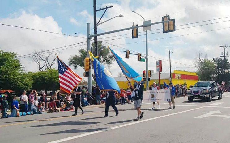 Desfile del Memorial Day,  el más grande en Colorado