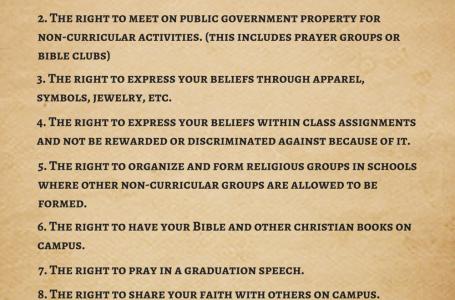 ¿Los estudiantes tienen derechos en Colorado?