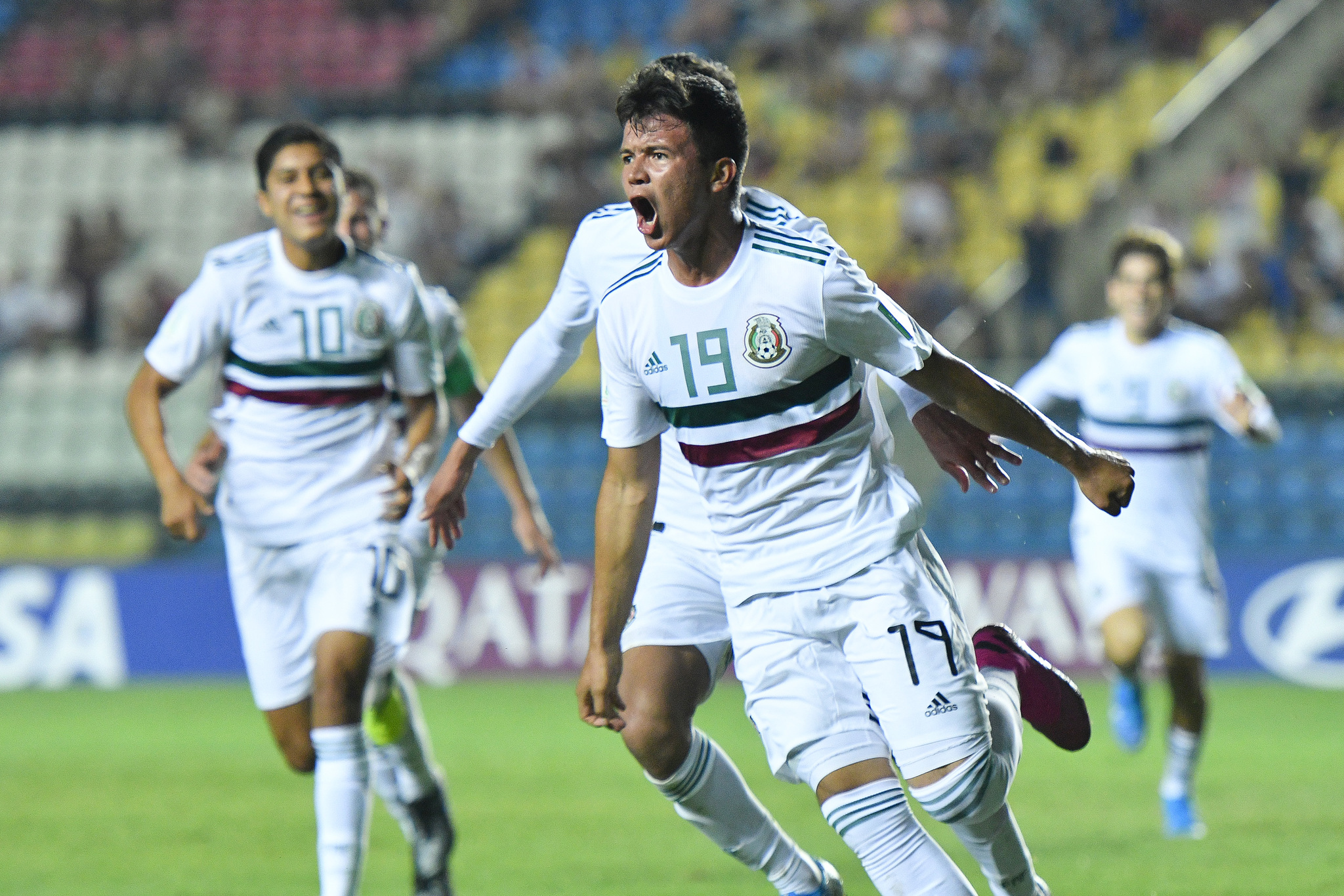 La selección mexicana se calificó a las semifinales