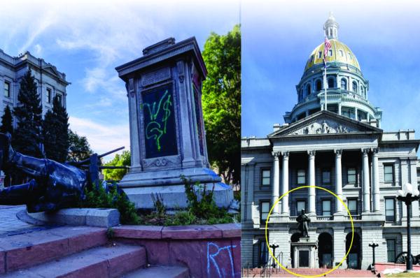 Derriban y empañan Monumento  de la Guerra Civil en el Capitolio