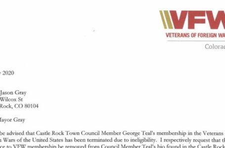 Miembro del Concejo Municipal George Teal Terminado de VFW