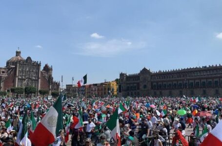 Miles de personas acudieron a la Ciudad de México para protestar contra López Obrador