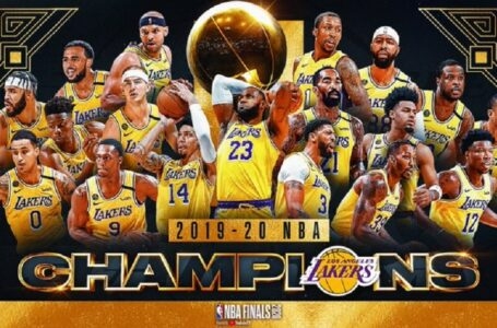 Lakers se proclamaron campeones