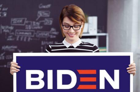 Prometen que la escuela se reanudará tan pronto como los maestros terminen su campaña por Biden.