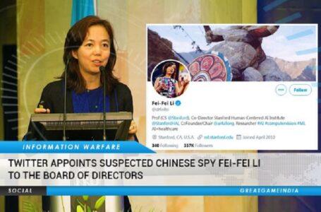 Twitter contrata a Fei-Fei Li, quien dirigió los esfuerzos de Google con el PCC para revisar el discurso en línea