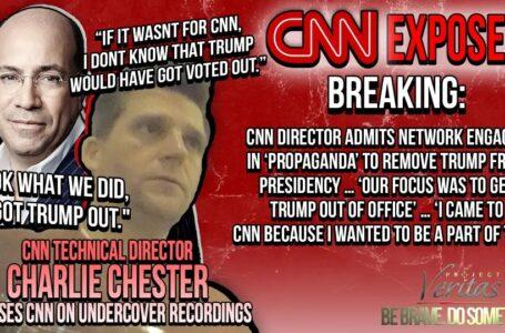 """Director de la cadena CNN ADMITE que se involucró en la """"propaganda"""" para destituir a Trump de la presidencia …"""