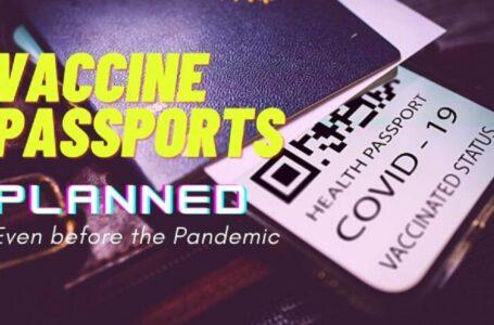 Informe revela que 'pasaporte de vacunas' fue ideado 20 meses antes de la pandemia