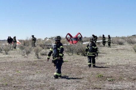 Dos aviones chocan en el aire sobre el Parque Estatal de Cherry Creek
