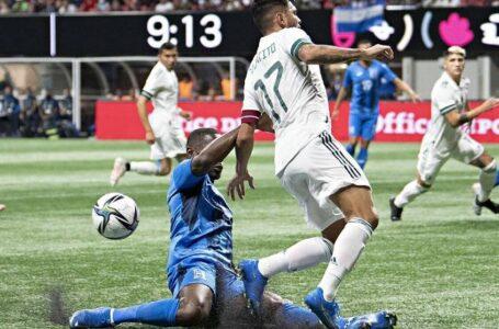 México vs Honduras, 0-0