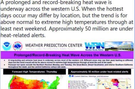 Advertencia histórica de calor excesivo emitida en Colorado