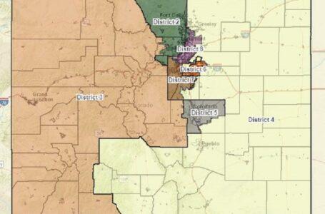 Mapa preliminar ubica el nuevo octavo distrito del Congreso de Colorado