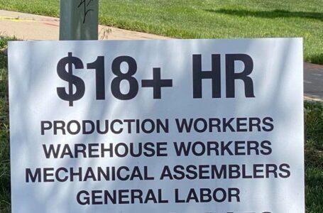 Escasez de mano de obra está afectando las ventas de casi todas las industrias al igual que las empresas