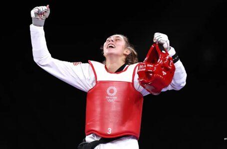 Anastasija Zolotic gana la histórica primer medalla de oro en taekwondo