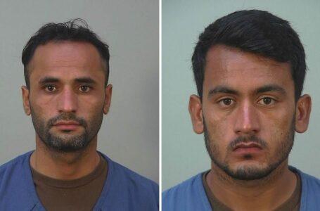 Refugiados afganos acusados de delitos federales, participación en acto sexual con menor de edad mediante el uso de fuerza