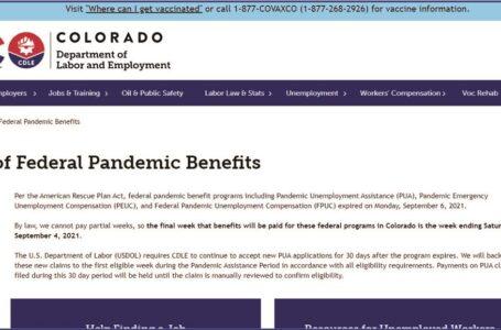 Más de 100,000 habitantes en Colorado pierden los beneficios federales por desemple