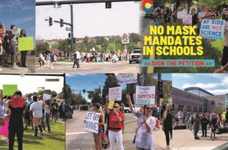 Colorado ocupa el cuarto lugar en oposición  a los mandatos de cubre bocas escolares
