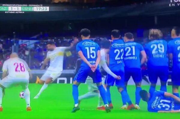 Cruz Azul se enfrentó a los Tigres